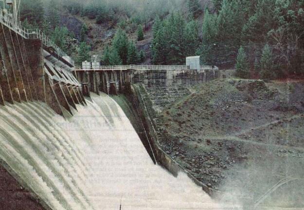Eel river dam