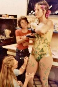 dancer gets makeup ed